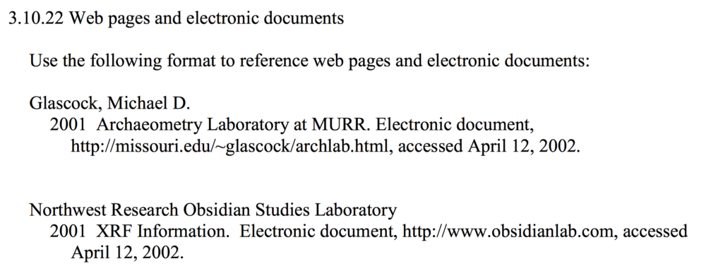 Web pages and electronic documents