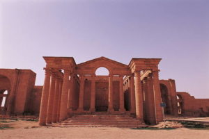 -Hatra (Iraq). Photographed by: Jean-Jacques Gelbart