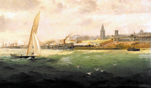 The Liverpool Landing Stage (1893) William F. Preston © NMGM Image Source: http://whc.unesco.org/uploads/nominations/1150.pdf