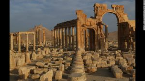 Monument before destruction of ISIS http://www.cnn.com/2015/06/24/middleeast/syria-isis-palmyra-shrines/