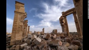 Monument after destruction of ISIS Monument before destruction of ISIS http://www.cnn.com/2015/06/24/middleeast/syria-isis-palmyra-shrines/