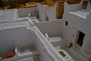 Streets above the town of Ghadames reserved for women only
